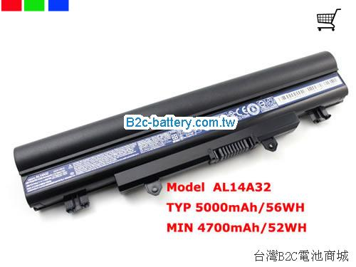 ACER 31CR17/65-2 Battery 5000mAh 11.1V  Li-ion