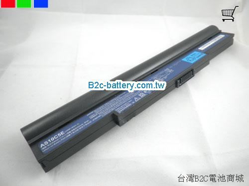 ACER 4ICR19/66-2 Battery 6000mAh 14.8V Black Li-ion