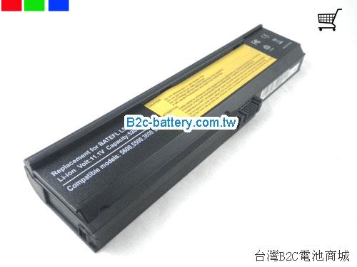 ACER 3UR18650Y-3-QC262 Battery 5200mAh 11.1V Black Li-ion