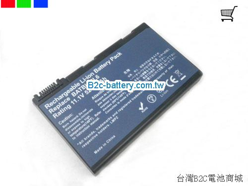 ACER 3UR18650Y-2-CPL-11 Battery 5200mAh 11.1V Black Li-ion