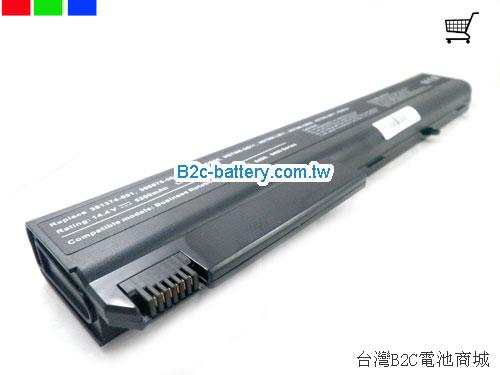 HP COMPAQ Business Notebook 8400 Series Battery 5200mAh 14.4V Black Li-ion